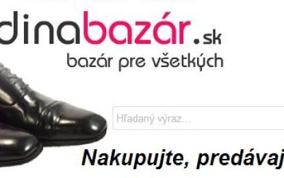 Detský bazár je na rodinabazar.sk