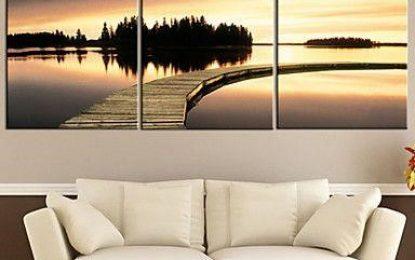 Načerpajte inšpiráciu, ako vyšperkovať svoj interiér fotografiou na plátne